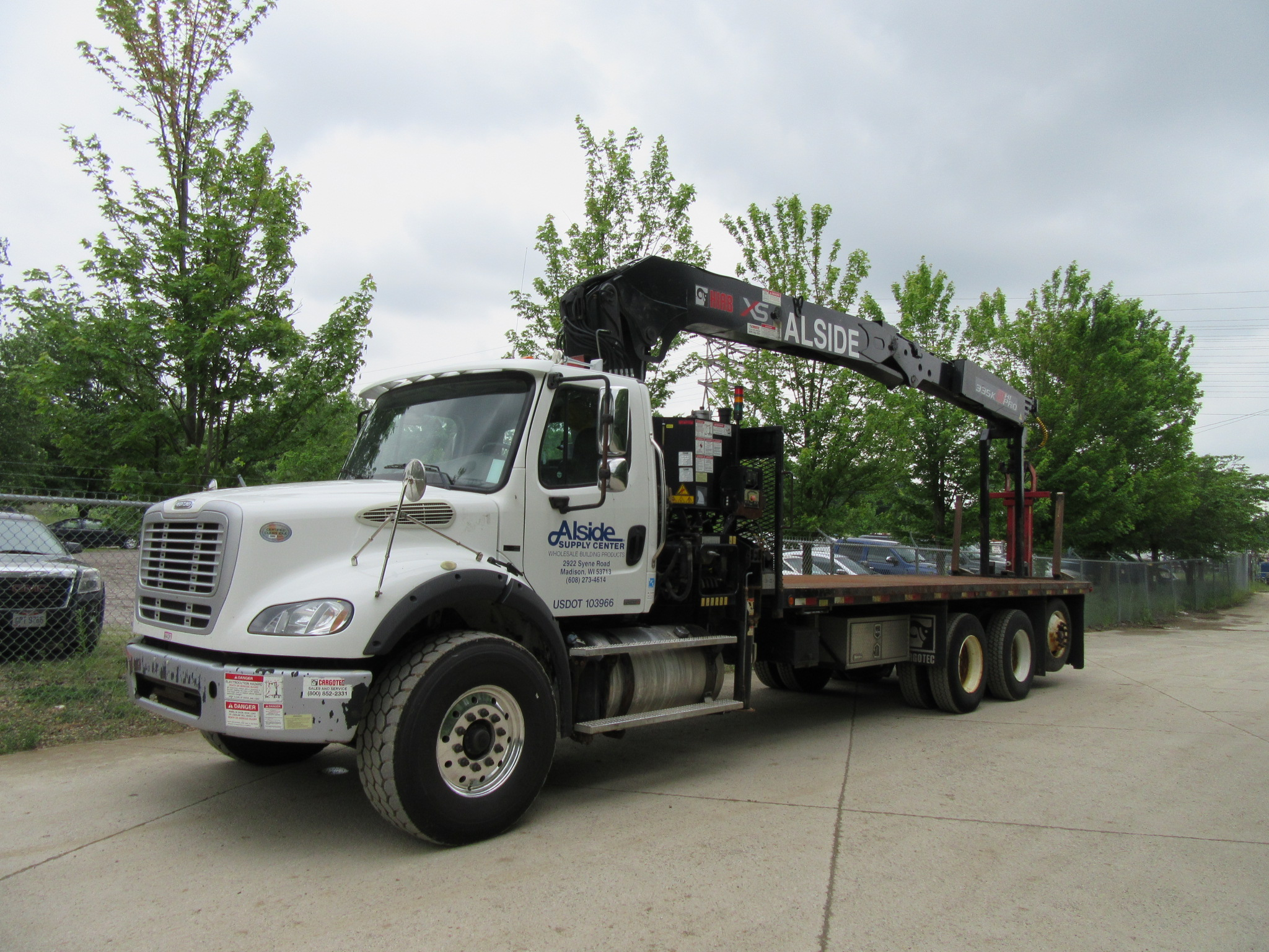 Freightliner M2 112 Wallboard Crane - D W  Lift Sales, Inc